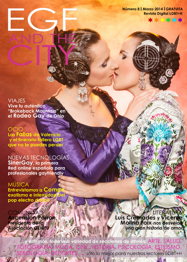 Revista gay EGF and the City 8ª edición