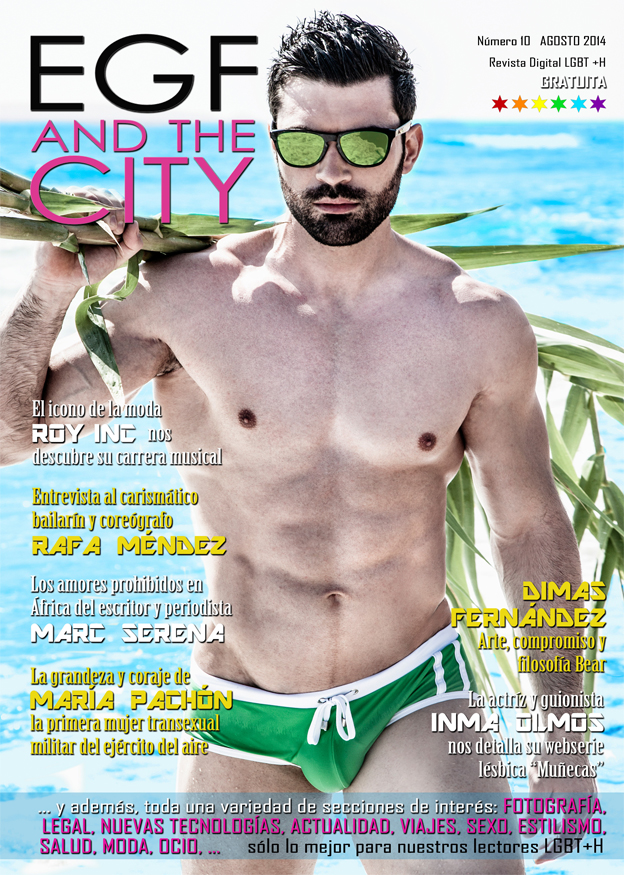 Décima edición de la revista gay EGF and the City