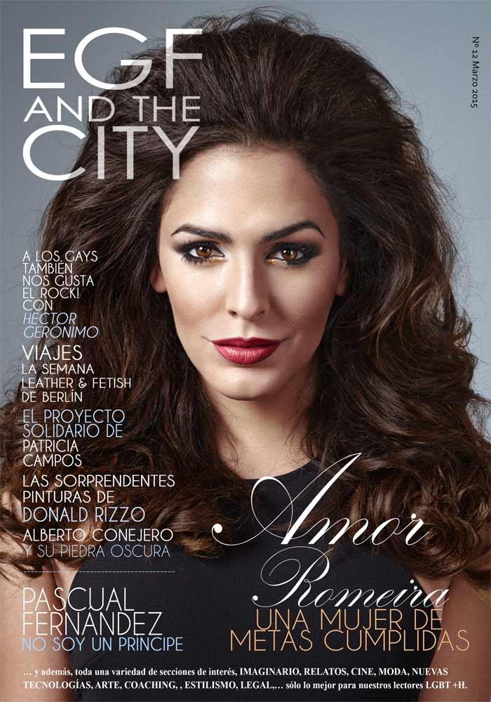 Revista gay EGF and the City, una revista gay de amplio contenido cultural y patrocinada por GRUPO EGF y la guía española de empresas gay friendly