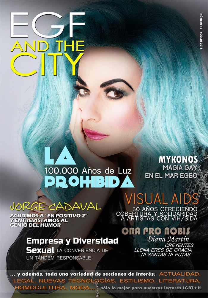 Revista gay EGF and the City, en la edición 13.