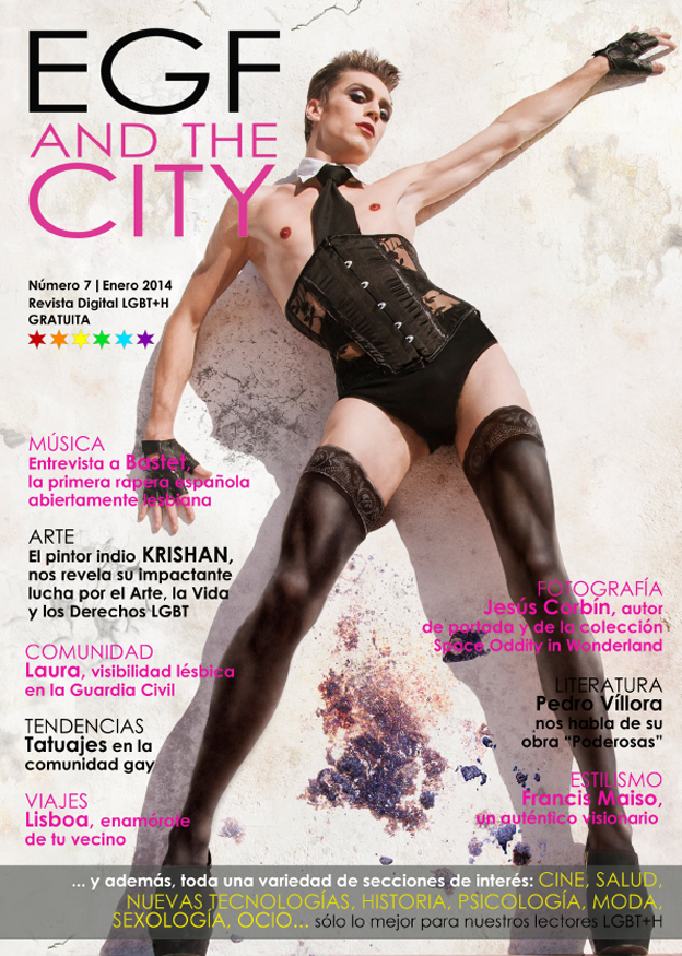 Revista gay EGF and the City, séptima edición