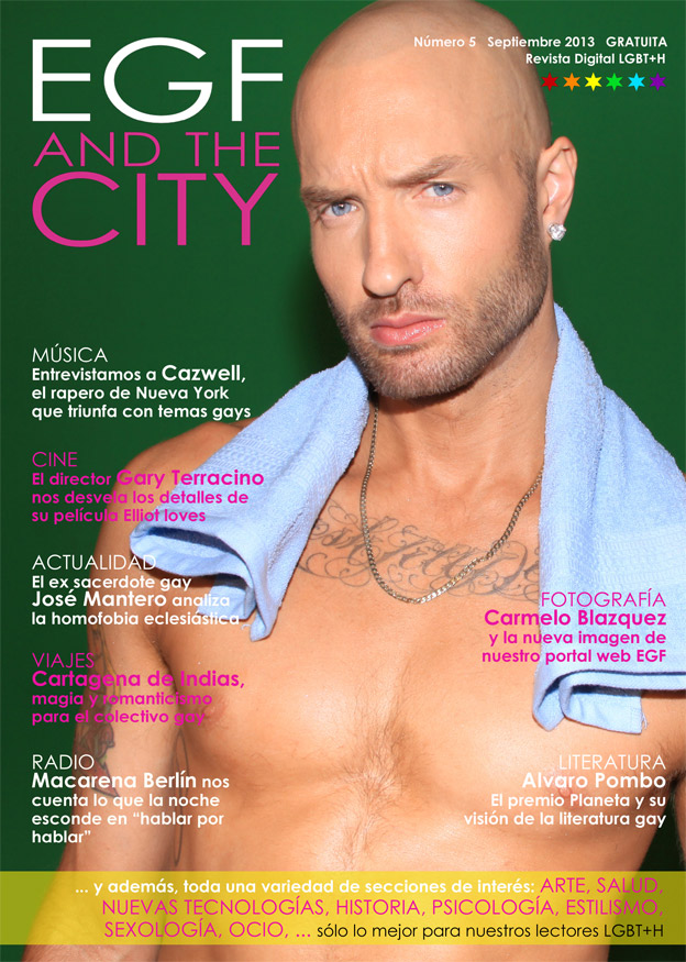Edición de número 5 de la revista gay EGF and the City