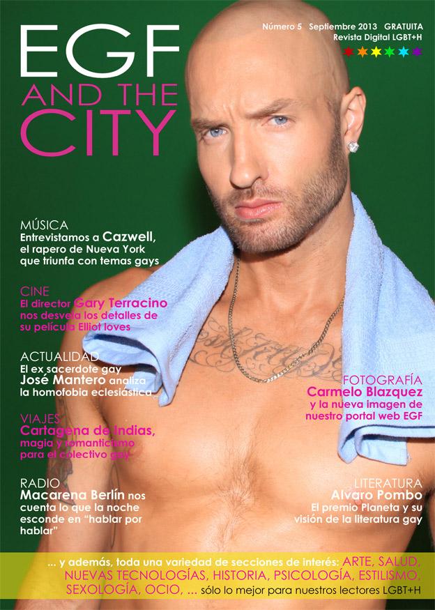 Edición de número 5 de la revista gay EGF and the City