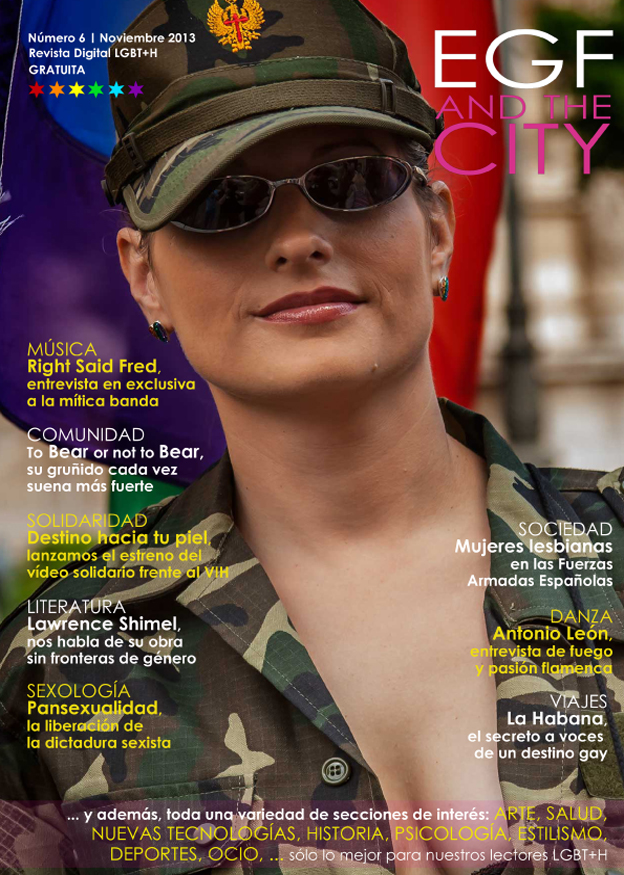 Edición de número 6 de la revista gay EGF and the City