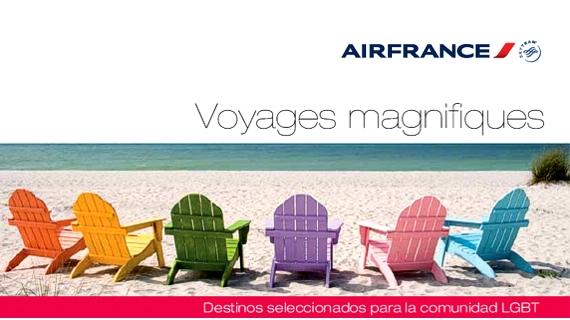 Air France estrena página dirigida a su mercado gay