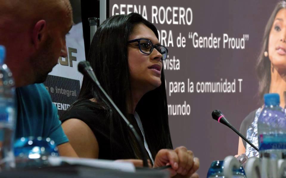 Ángela Florez, activista trans