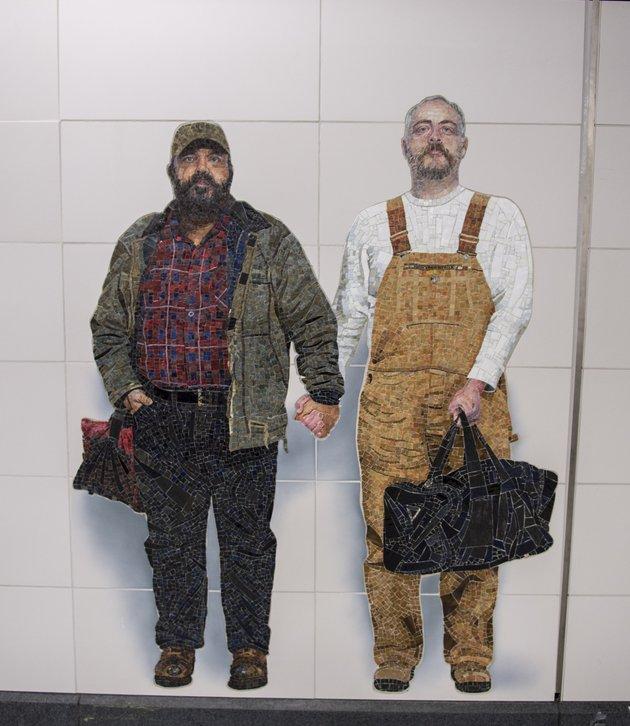 amor gay en metro de nueva york