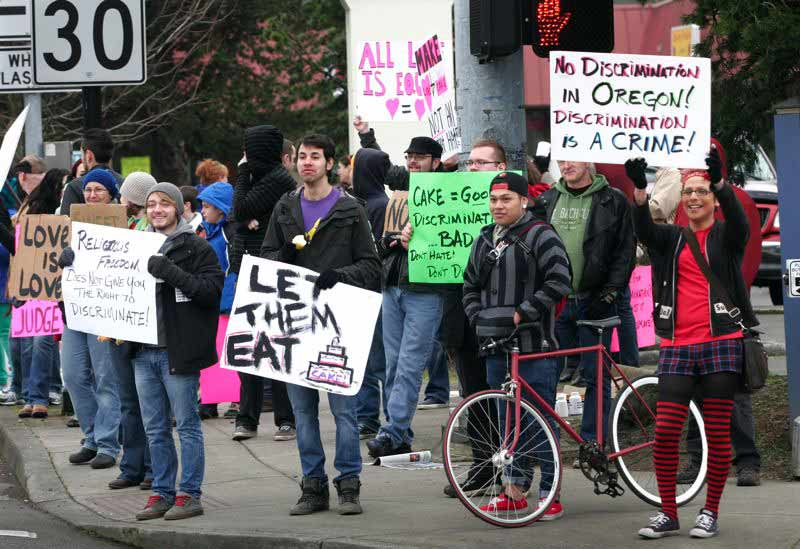 Pasteler a de ee uu condenada a pagar d lares a for Lesbianas en la oficina