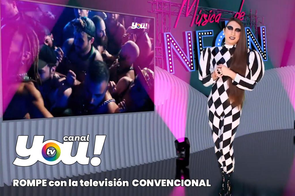 Alex Guirado Canal you televisión lgtbi