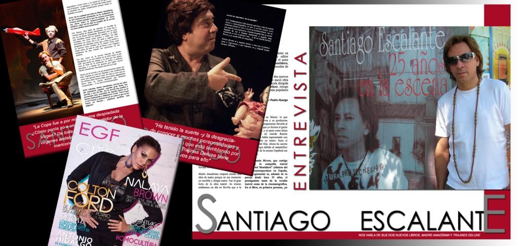 Santiago Escalante, Madre Amadísima y Trajines Deluxe