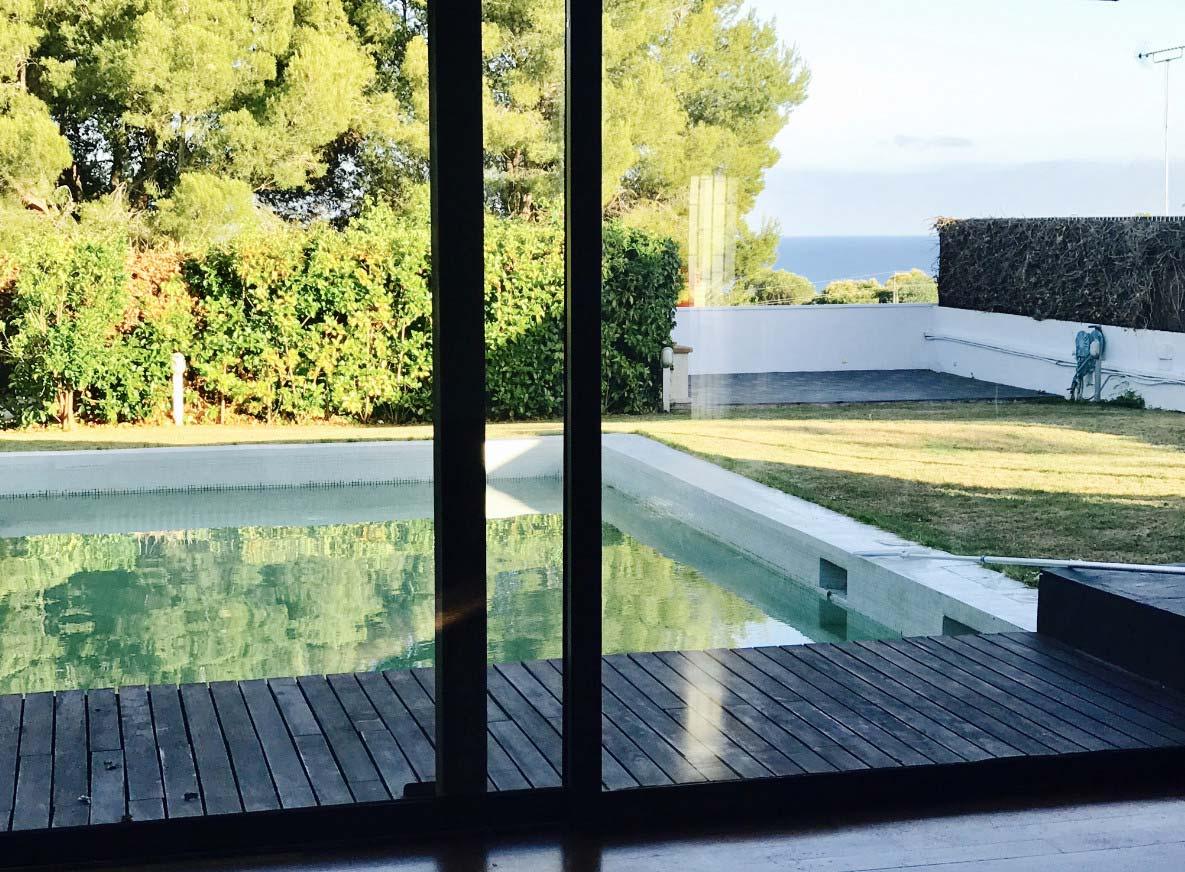 Venta chalet en Sitges. Chalet en Sitges con vistas al mar en venta.