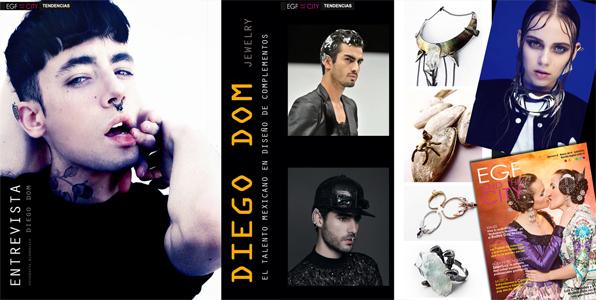 Diego Dom, el talento mexicano en diseño de accesorios