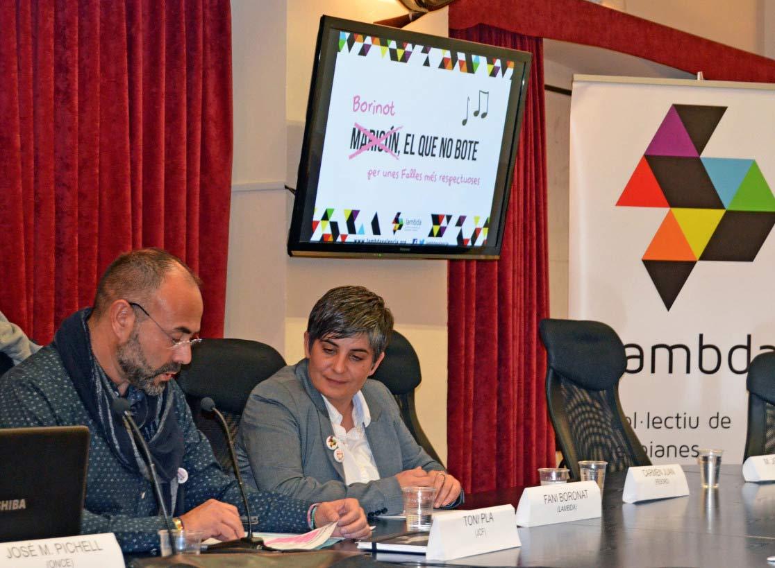 LAMBDA premiará a las Fallas que muestren la diversidad sexual, de género y familiar