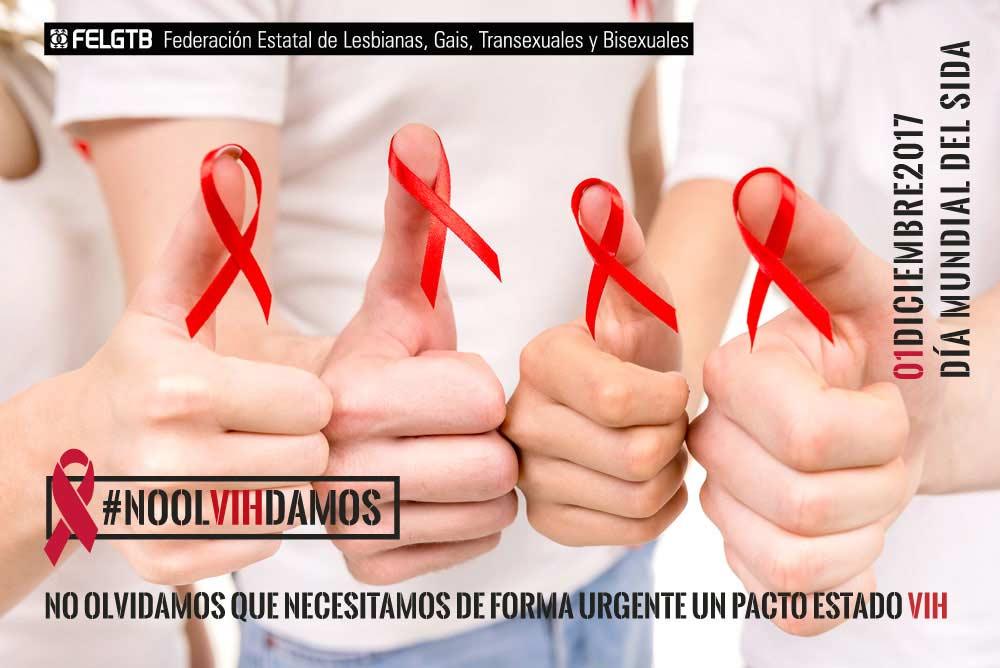 FELGTB exige que se cumpla el compromiso de un pacto de Estado frente al VIH y sida