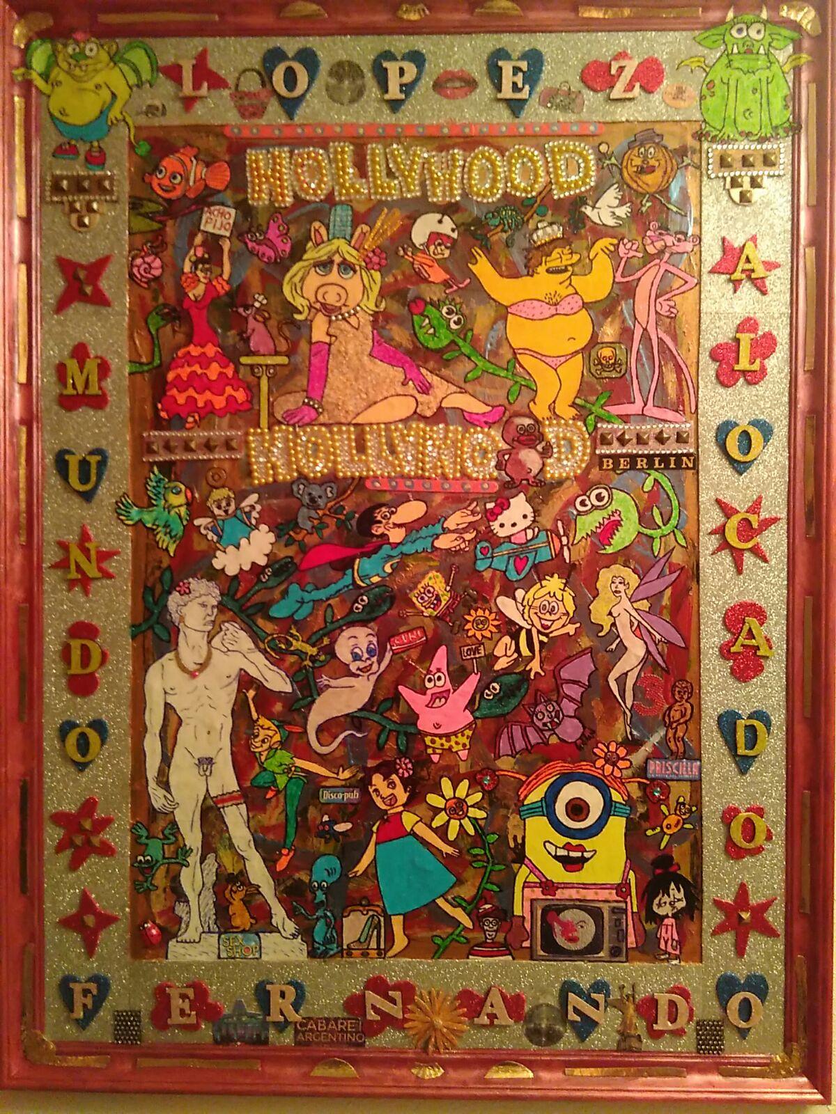 Homocultura. Pop-Art y Kistch en la mano del artista Fernando López.