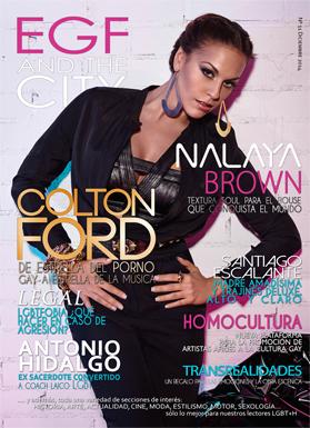 Revista gay EGF and the City. Edición número 11. Patrocinada por la guía española de empresas gay friendly