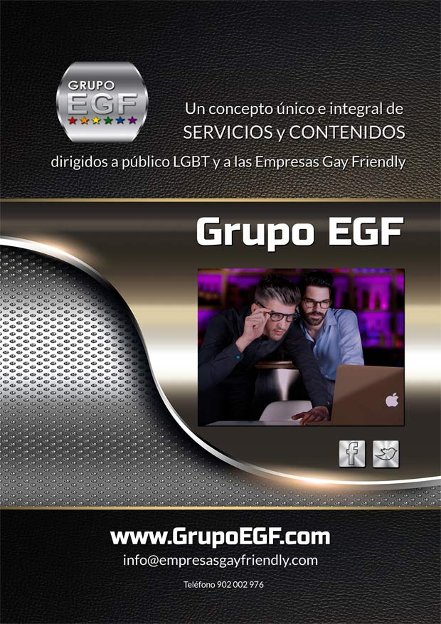 Grupo EGF, un concepto único e integral de servicios y contenidos para gays, lesbianas, bisexuales y transexuales