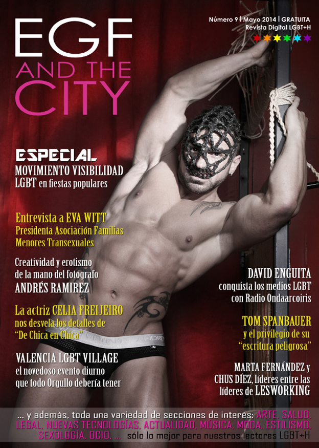 Novena edición de la revista gay (LGBT) EGf and the City, patrocinada por La Guía Española de Empresas Gay Friendly