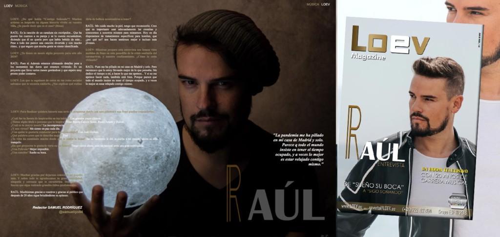 Entrevista al cantante Raúl Fuentes