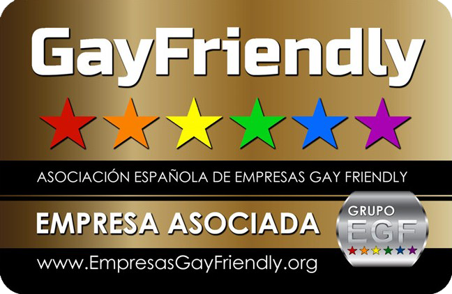 Empresa gay friendly. Identificativo Gay Friendly.