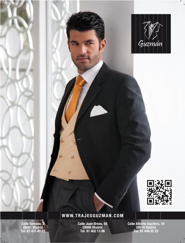 Trajes Guzmán se dedica al alquiler y venta de trajes de etiqueta con un  concepto innovador y elegante ofreciendo un servicio único y de calidad. b1730e17198