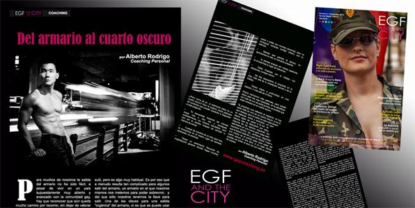 gay del armario al cuarto oscuro, artículo de coaching para la revista gay EGF and the City