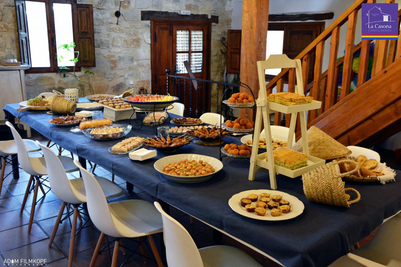 Cóctel 2º Aniversario de La Casona de Castilnovo con Pupi Posisson