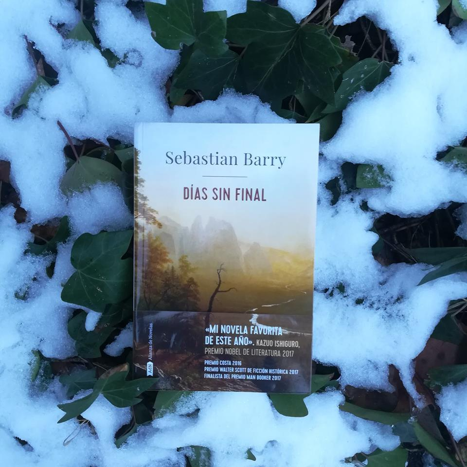 """Novela gay""""Días sin final"""", de Sebastian Barry"""