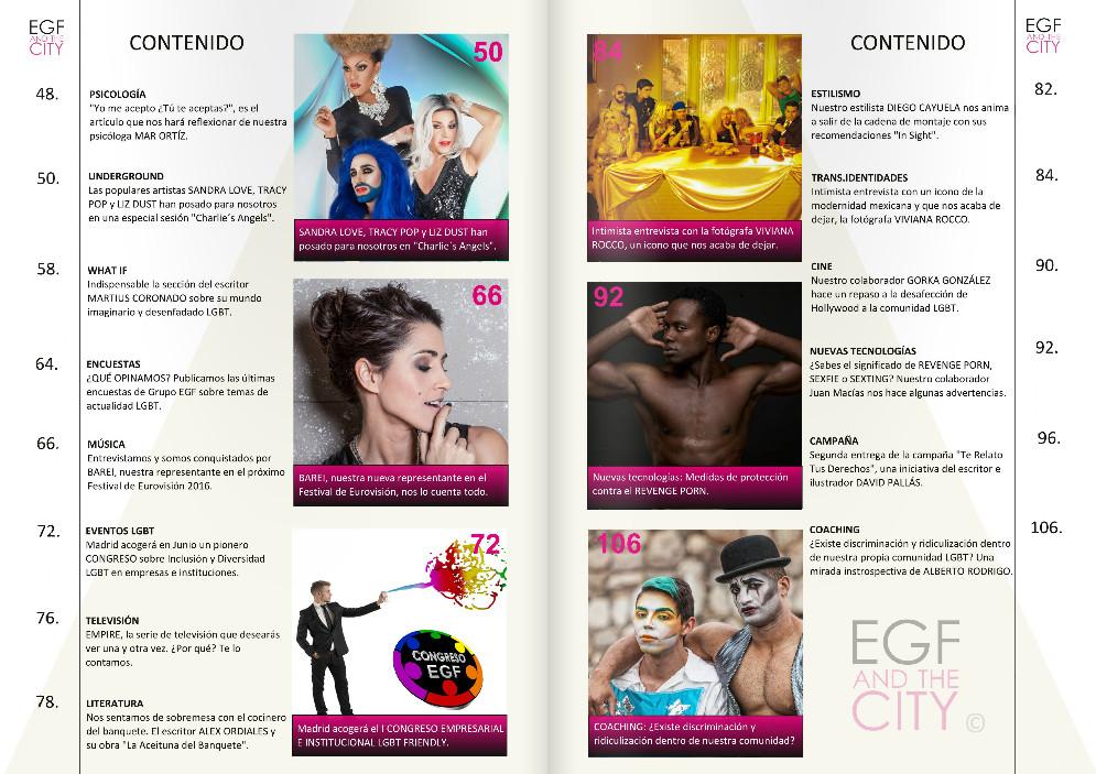 Sumario revista EGF and the City
