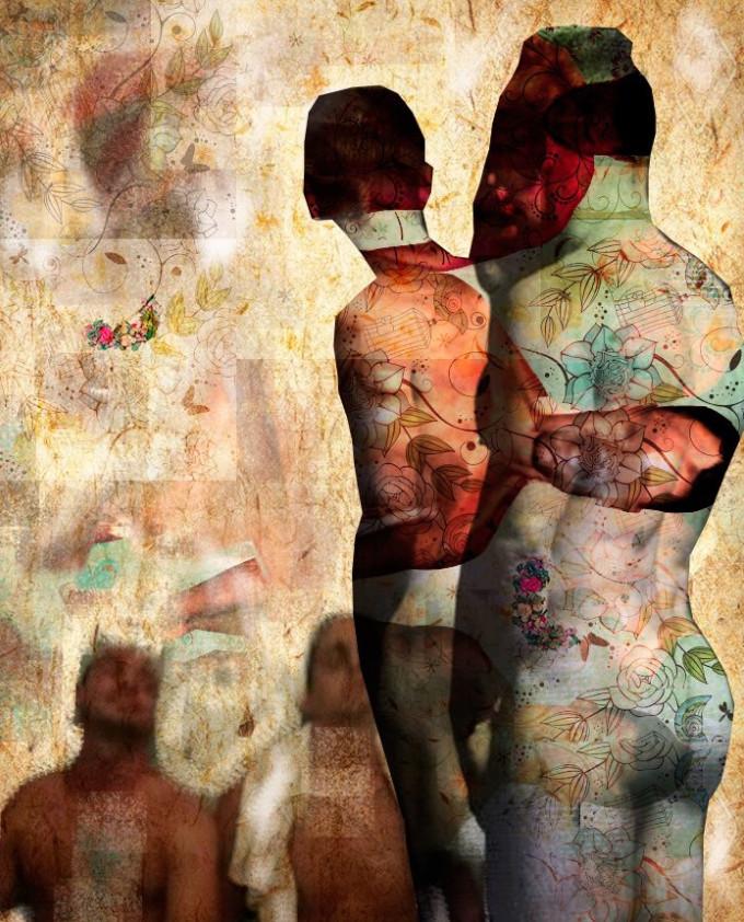 """El homoerotismo poético de """"Eltío Esse"""" en el que convive fotografía, pintura y vídeo"""