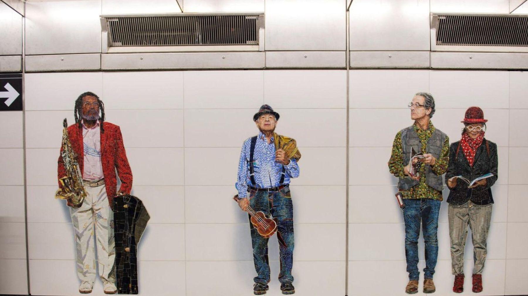 arte gay en metro de nueva york