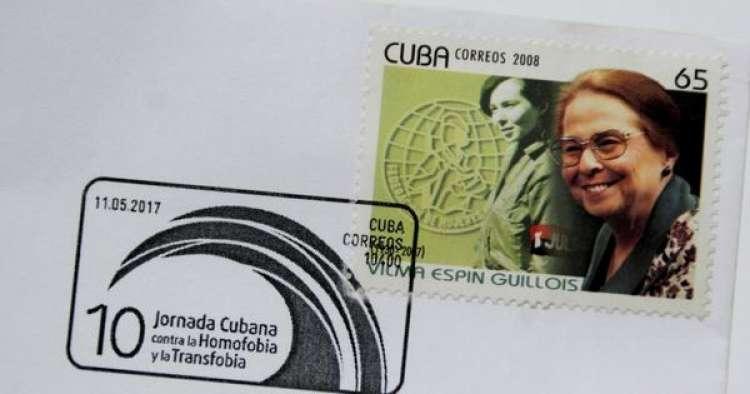 Cuba lanza el primer sello postal contra la homofobia y la transfobia