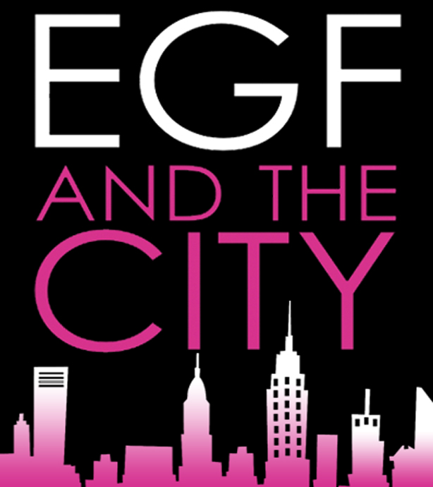 Revista gay EGF AND THE CITY Logo