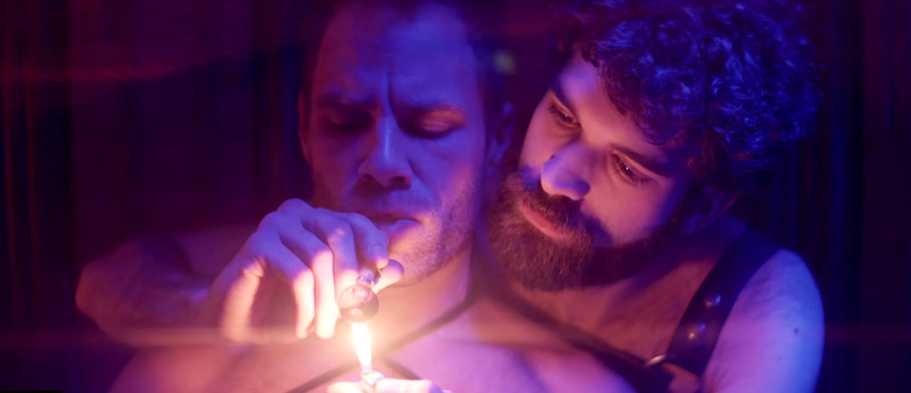Natti Vogel estrena un vídeo musical BDSM gay protagonizado por Matt Wilkas