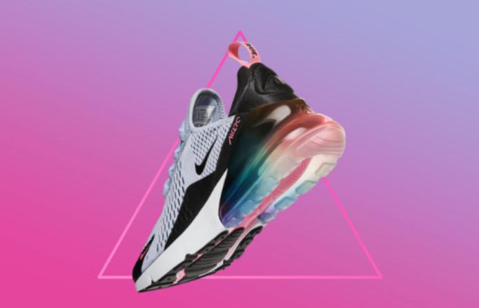 Nike utiliza la simbología del Triángulo Rosa en su nueva colección del Orgullo