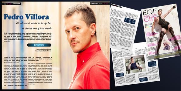 Entrevista al escritor Pedro Víllora