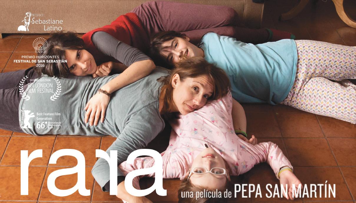 """película """"RARA"""" de la directora chilena Pepa San Martín"""