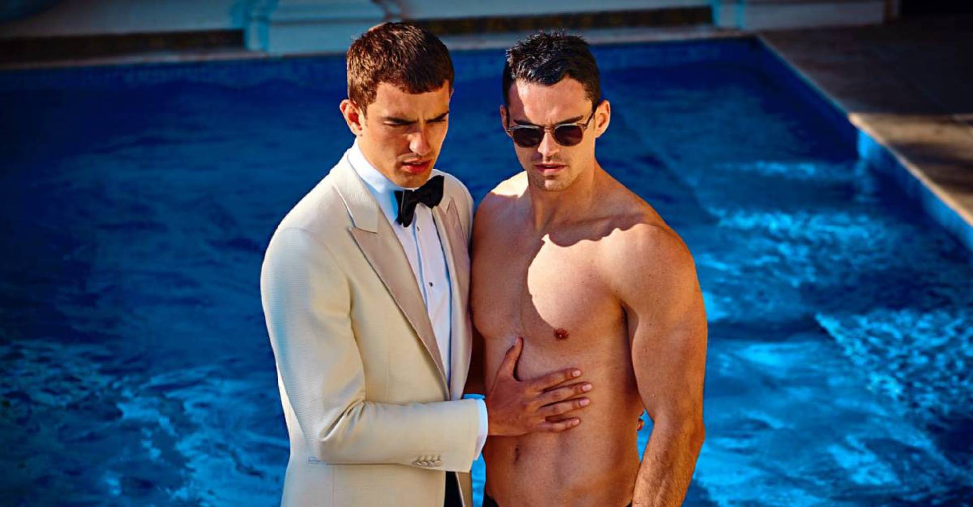 Publicidad gay con todo rigor por parte de una conocida marca de trajes