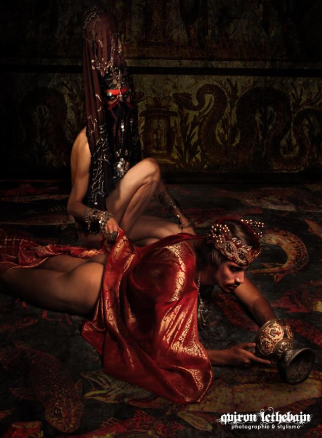 Qviron Lethebain fotografía homocultura