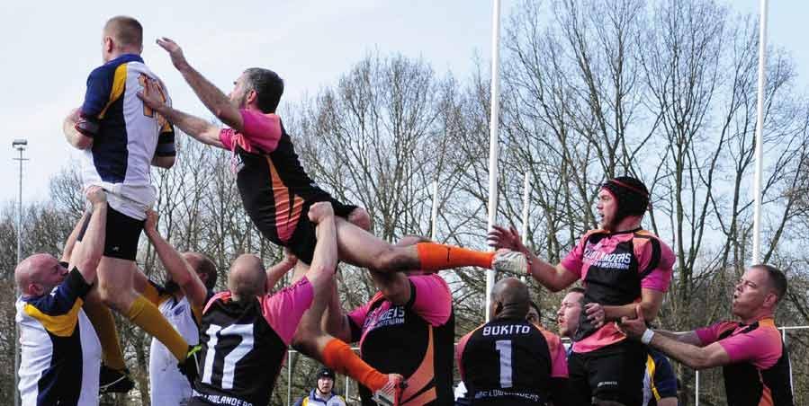 Bruselas acoge el mayor torneo europeo de rugby gay inclusivo