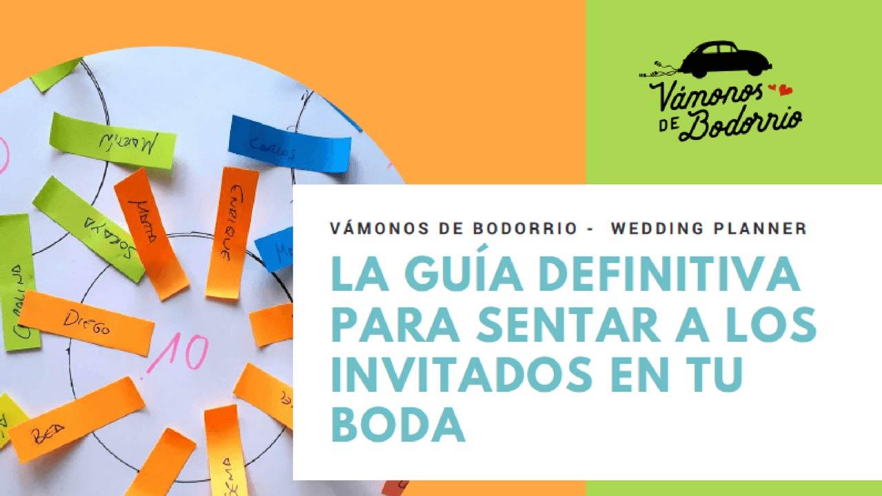 """""""Vámonos de Bodorrio"""" publica una guía para sentar a los invitados en tu boda"""